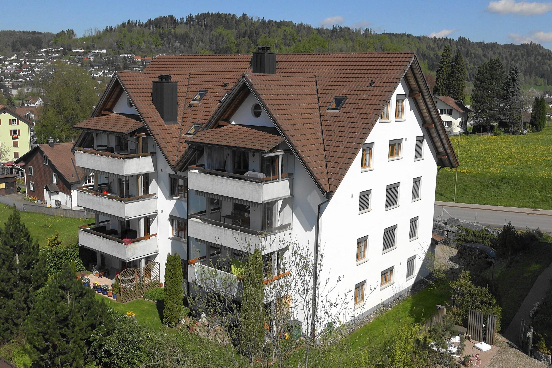 Wohnbau - Luftaufnahmen mit Drohne