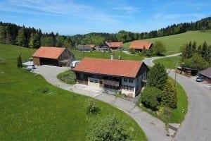 Immobilien Luftaufnahmen mit Drohne - Bauland