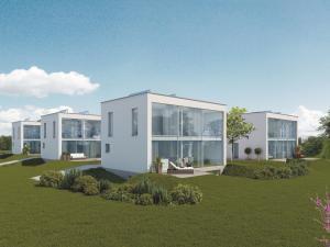 Architekturvisualisierungen, Rendering, Haus, Wohnungen, Einfamilienhaus