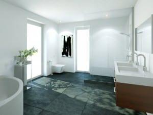 3D Visualisierungen, Badezimmer, Innenraum, Innenansicht