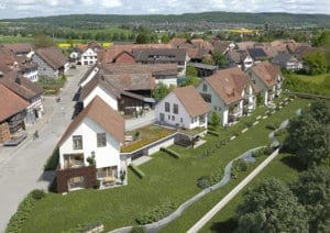 3D Visualisierungen, Rendering, Immobilien, Mehrfamilienhaus, Gebäude