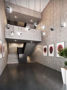 3D Visualisierungen, Rendering Gewerbebau, Innenraum, Büro, Sitzungszimmer