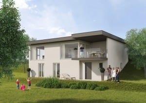 Visualisierung Einfamilienhaus | STOMEO Visualisierungn - Zürich