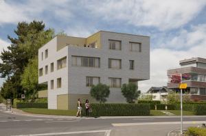 3D Visualisierungen, Architekturvisualisierungen, Haus, Mehrfamilienhaus. Gebäude