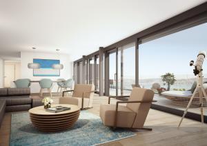 Architekturvisualisierung Wohnung in Kilchberg