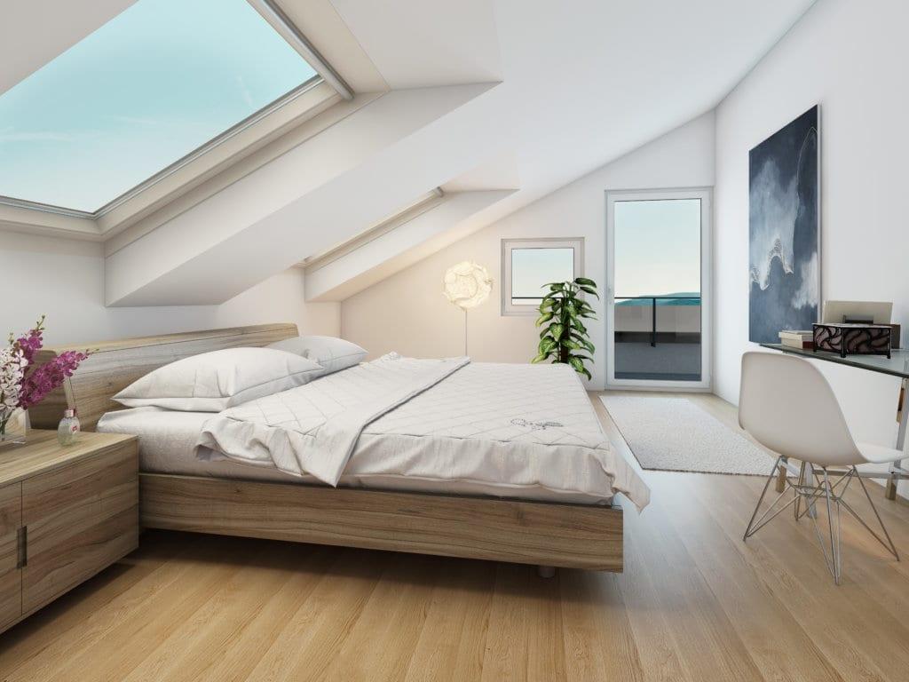 3d-innenraumvisualisierung wohnung | schlafzimmer | stomeo, Schlafzimmer entwurf