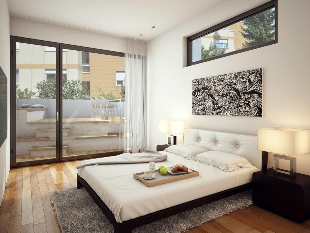 En Schlafzimmer | Schlafzimmer Visualisierungen 3d Innenraum Wohnung Stomeo