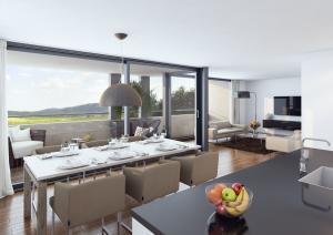 3D Visualisierungen, Architektur Visualisierung, Architekturvisualisierung, Rendering Wohnzimmer