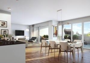 Visualisierungen Küche, Wohnung Innenraum in Reidern
