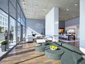 Visualisierungen 3D Immobilie Innen Möbelgeschäft 333