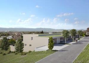 3D Visualisierungen, Terrassenhaus, Wohnungen, Mehrfamilienhaus