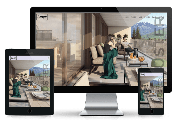 Immobilien Webseiten für Immo Makler