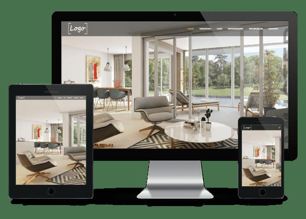 Immobilien Webseiten für Makler