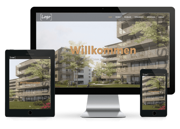 Exklusive Immobilien Websites