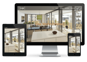 STOMEO Visualisierungen Immobilien Website