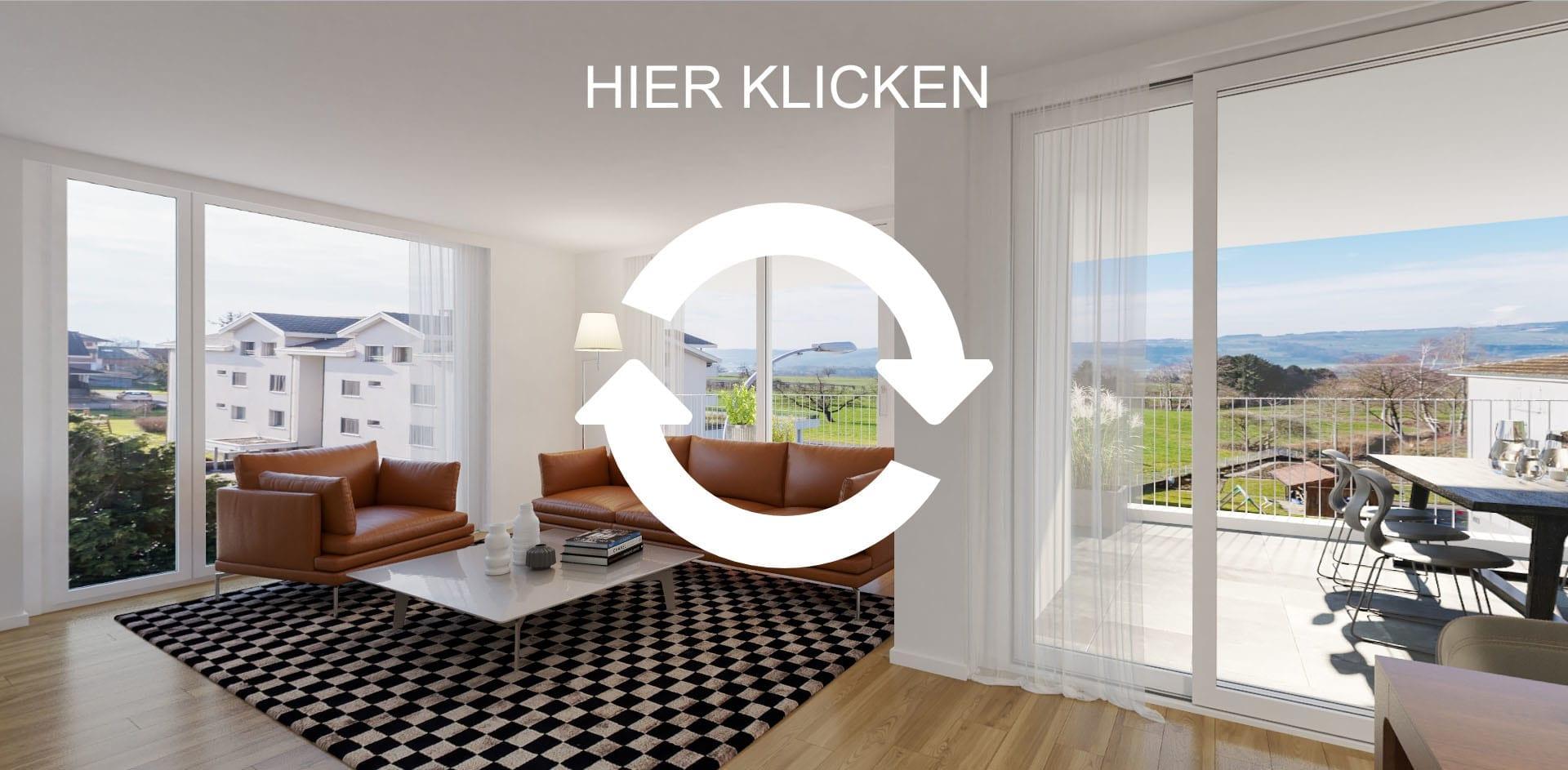 STOMEO Visualisierungen 3D Immobilien Immobilie Animation 360 Grad Wohnzimmer Besichtigung Panorama