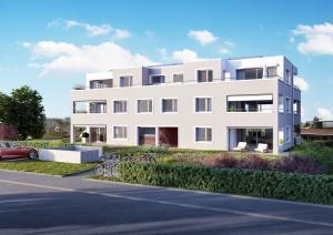 3D-Visualisierung - Immobilien Neubau MFH Gockhausen