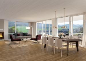 3D-Visualisierung Wohnraum - Immobilie in Frick