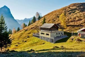 Architektur 3D Visualisierung Umbau Berg-Hütte in Ennenda