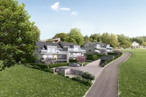 Architekturvisualisierung Immobilien - Neubau Mehrfamilienhäuser