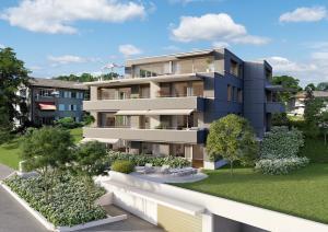 Architekturvisualisierungen Immobilien MFH in Zürich