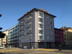 3D Visualisierung Wohn und Geschäftsgebäude in Zürich