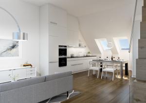 3D Visualisierung - Wohnung Umbau MFH in Zürich