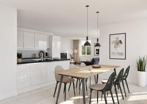 Visualisierungen Küche Wohnung Modern