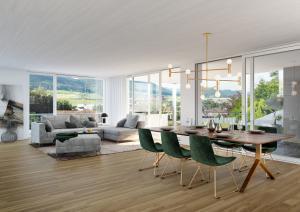 3D Visualisierungen Wohnraum - Immobilie in Frick