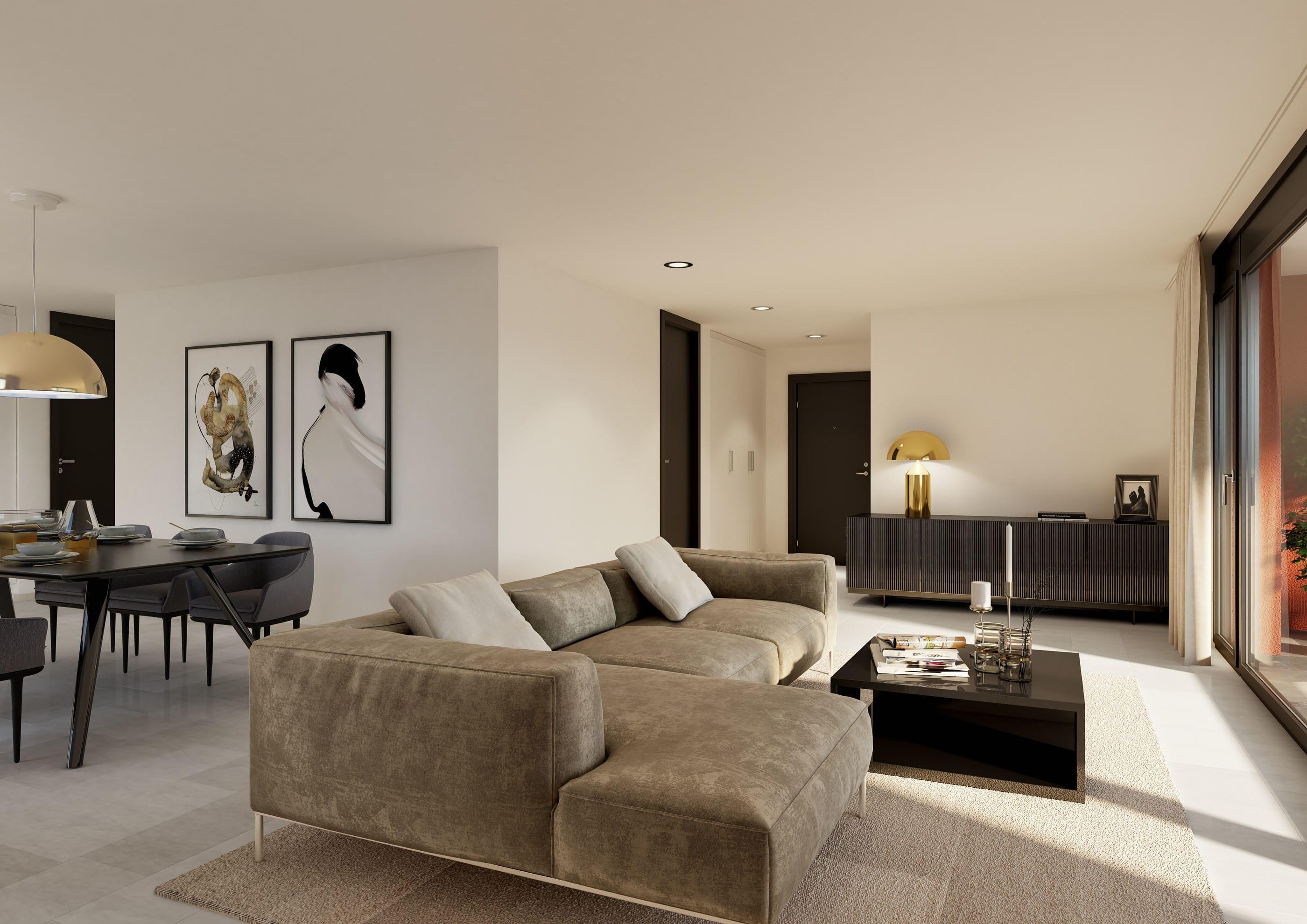 Visualisierung Wohnzimmer - Top Style Einrichtung - MFH Bubikon