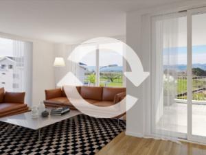 360 rundgang visualisierung, immobilien besichtigung