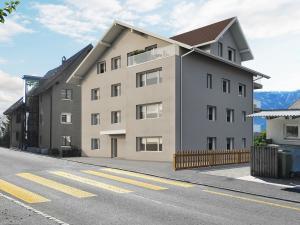 3D Architekturvisualisierung MFH Oberaegeri