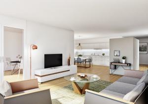 3D Rendering Sanierung Wohnung