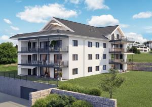 3D Architektur Visualisierungen Mehrfamilienhaus in Schongau