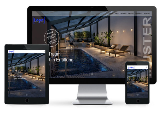 STOMEO Visualisierungen Immobilie Website
