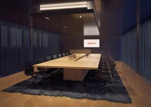 Visualisierung Büro - Meeting-Raum Swiss