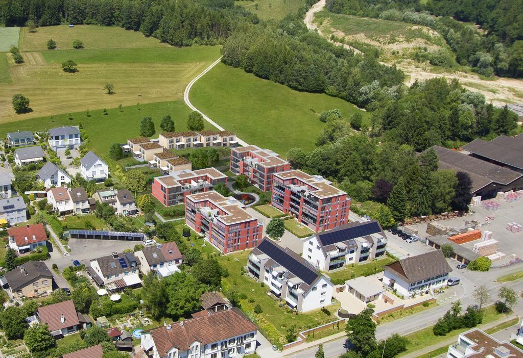 Neubau Siedlung in Rafz - STOMEO Visualisierungen