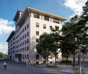 Architektur Visualisierungen Umbau MFH