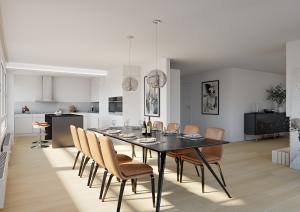 Visualisierung Wohnung in Zuerich nach Umbau