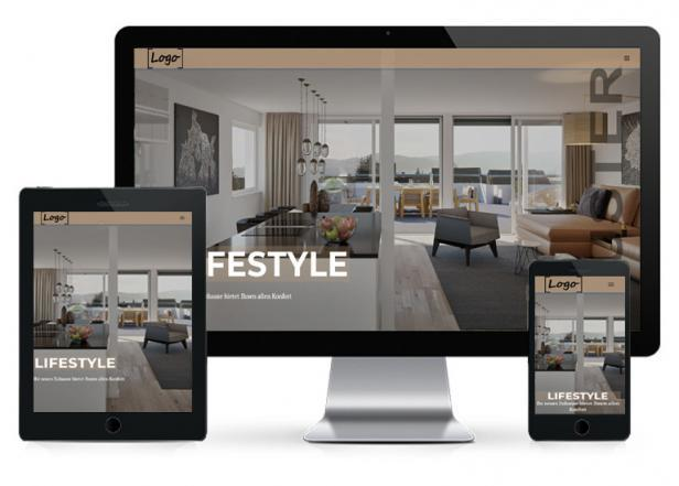 Immobilien Theme Webseite