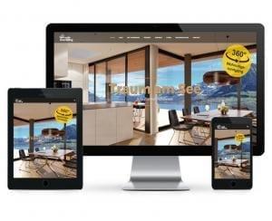 Immo Website Referenzobjekt - Projektwebseite