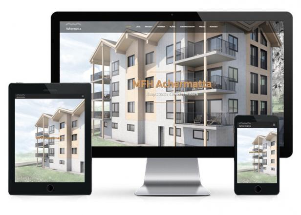 Immo Website - Immobilien Webseite für Makler
