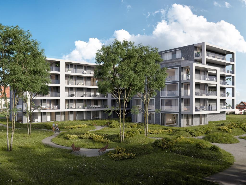 Wohnüberbauung in Kloten - STOMEO Visualisierungen