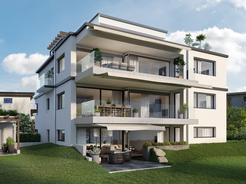 Neubau MFH in Meilen - STOMEO Visualisierungen