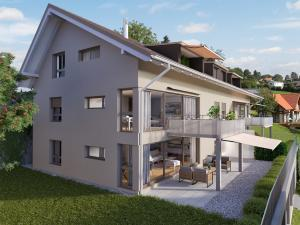 Neubau MFH in Riggisberg - STOMEO Visualisierungen