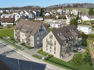 Wohnüberbauung in Nürensdorf - STOMEO Visualisierungen