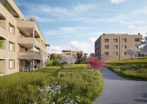 Wohnueberbauung - Architekturvisualisierung
