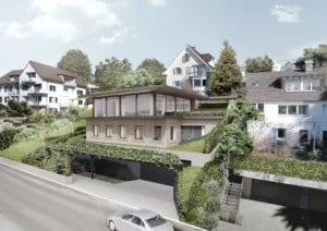 Architektur Rendering Haus