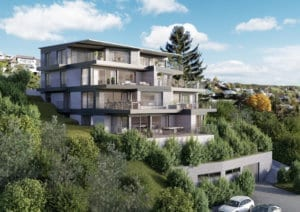 3D Architekturvisualisierungen - Terrassenhaus