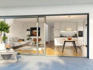 3D-Visualisierung Innenansicht Wohnung